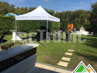 Professionele easy-up tent wit (Pajote Garden)